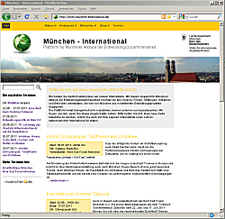 "Website ""München-International"""